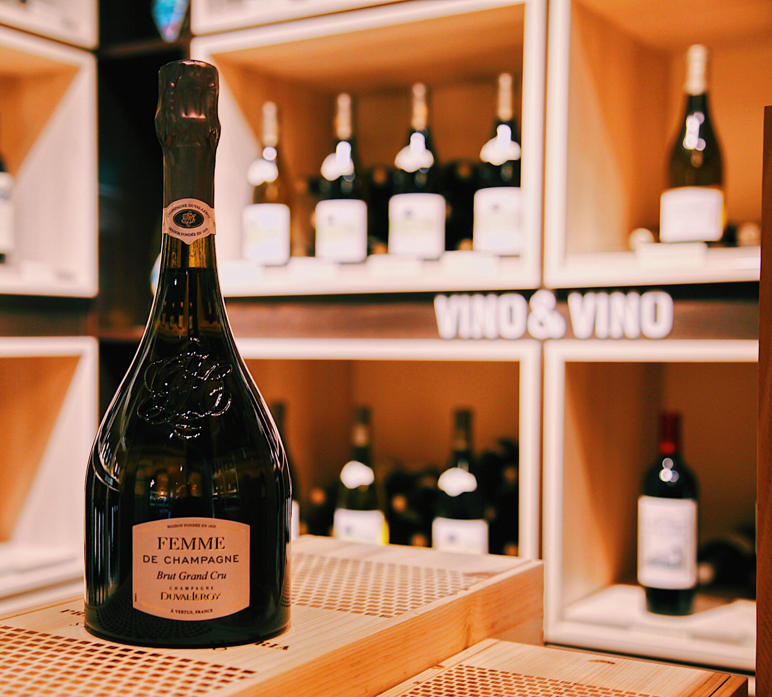 Champagne- Duval-Leroy Brut Grand Cru
