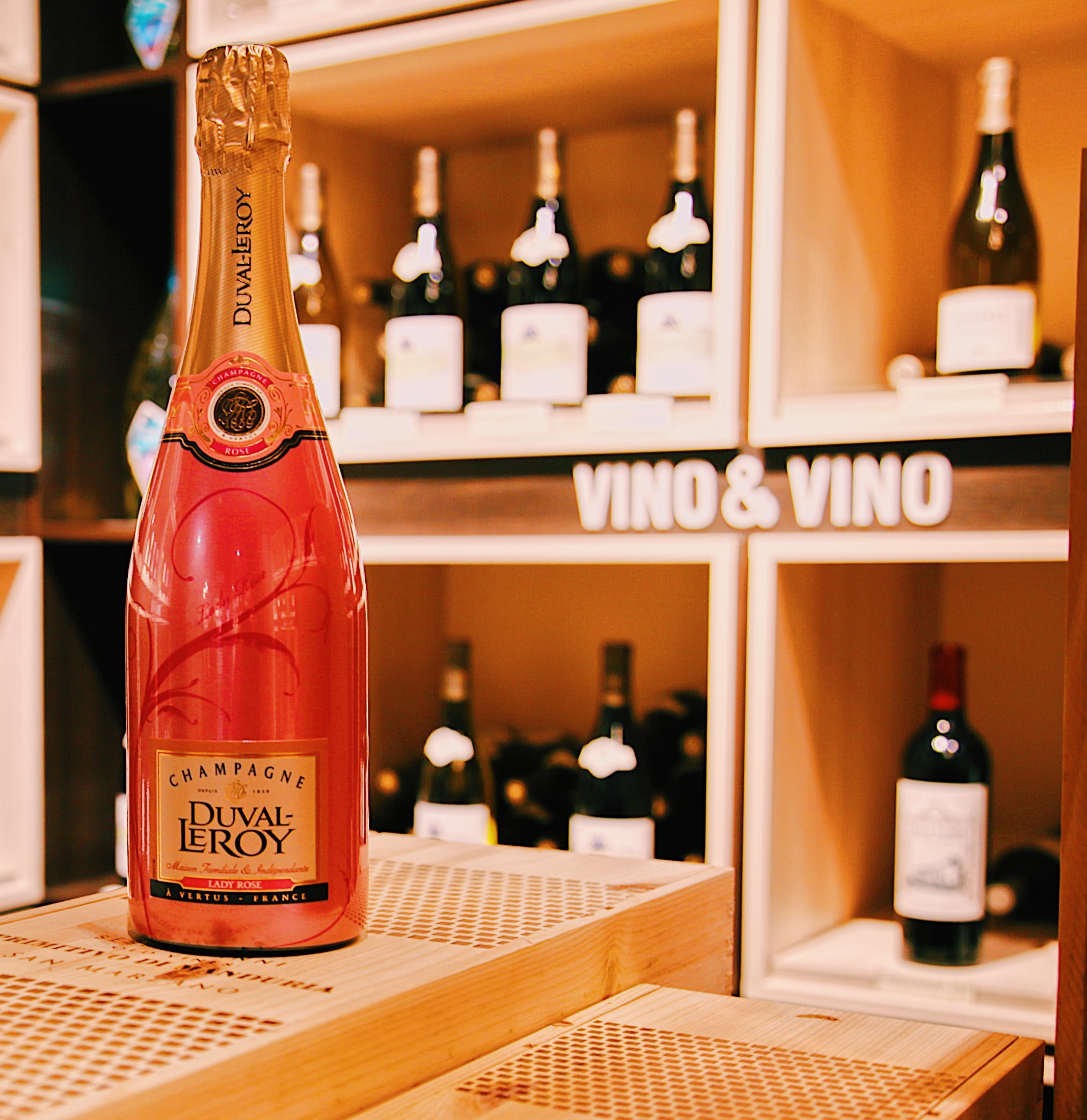 Champagne  Duval-Leroy Brut Lady Rose