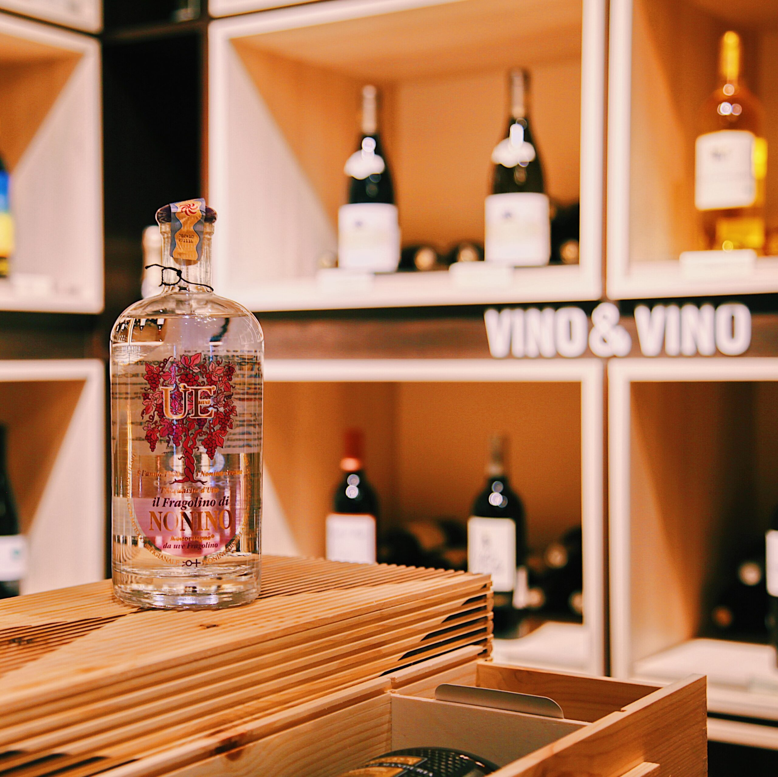 NONINO Grappa Liquor  – IL Fragolino