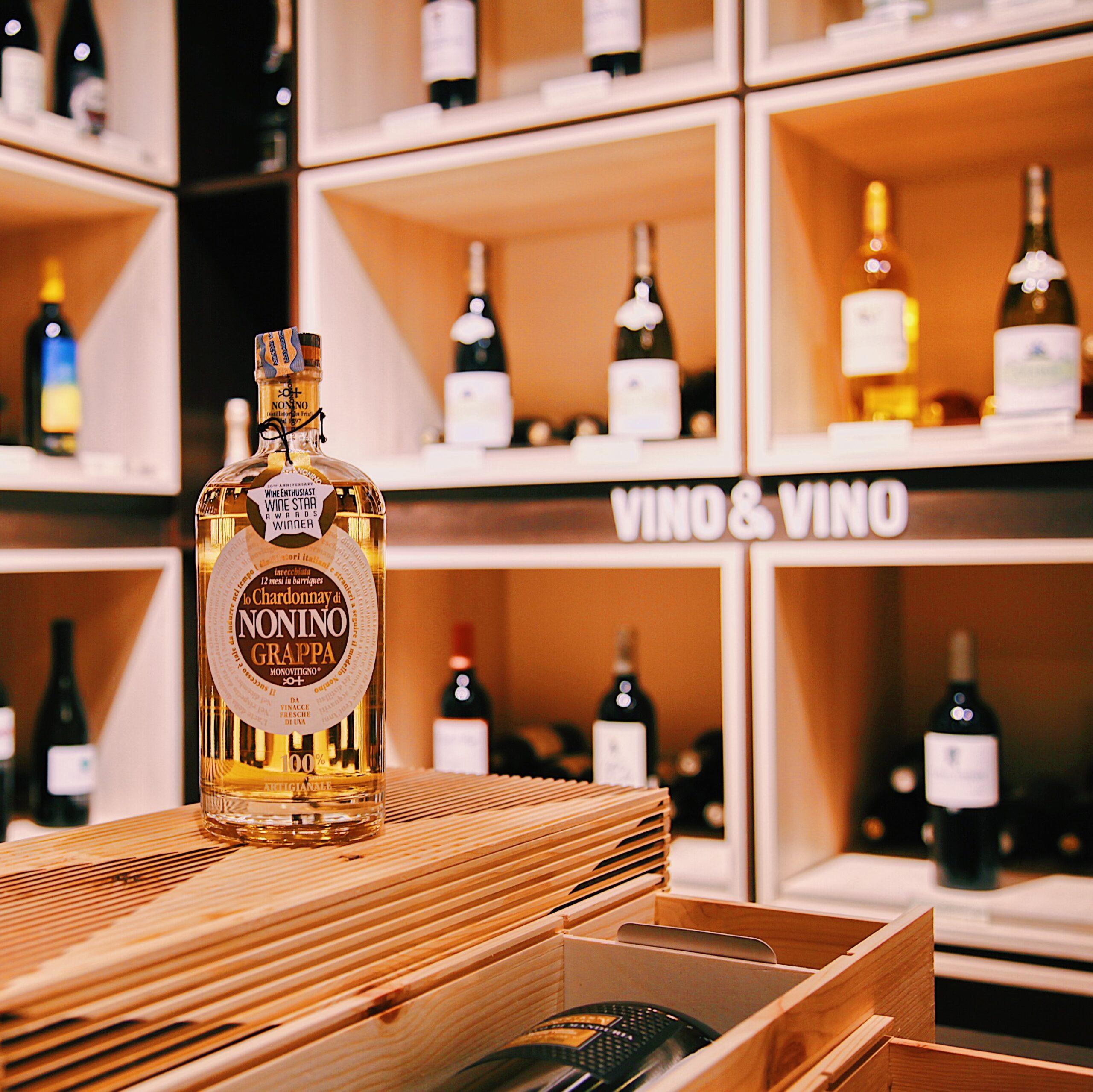 NONINO Grappa – Chardonnay Oaked 41%